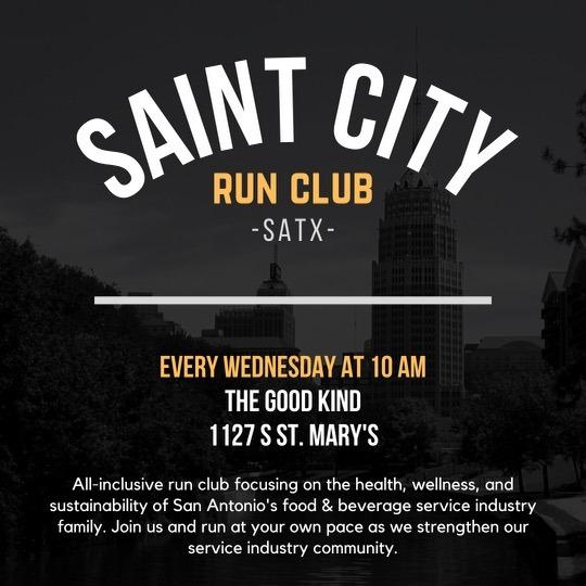 Saint City Run Club Graphic