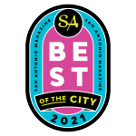 San Antonio Magazine 2021 Best of the City Award